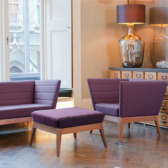Callisto sofa boss design arm chair oak base