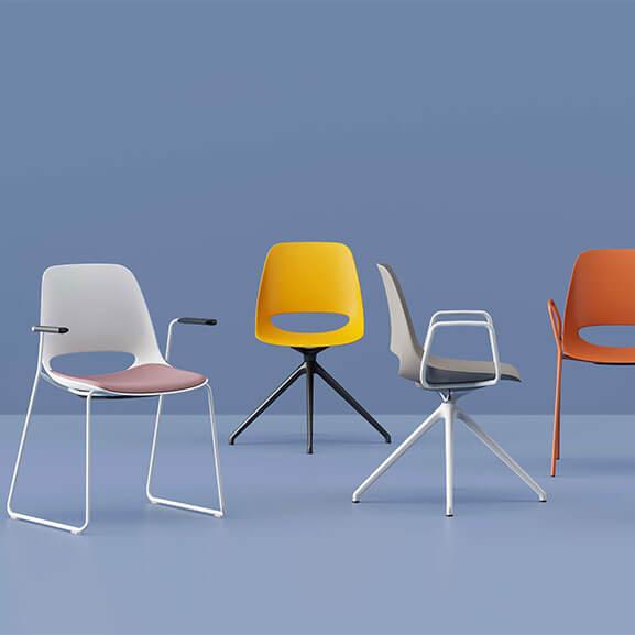 saint chair various base boss design