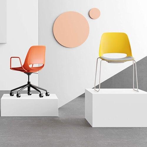 saint chair 5 star and sled base boss design