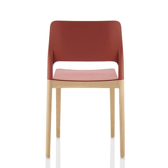 Deuce Bistro Chair Boss Design oak leg frame