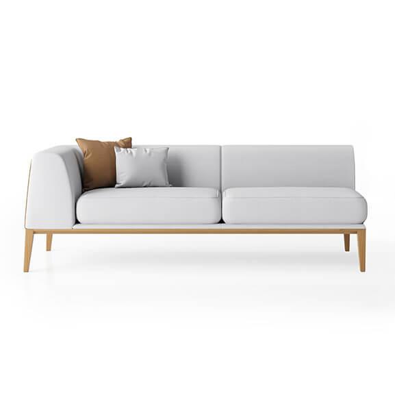 Maysa sofa right arm boss design