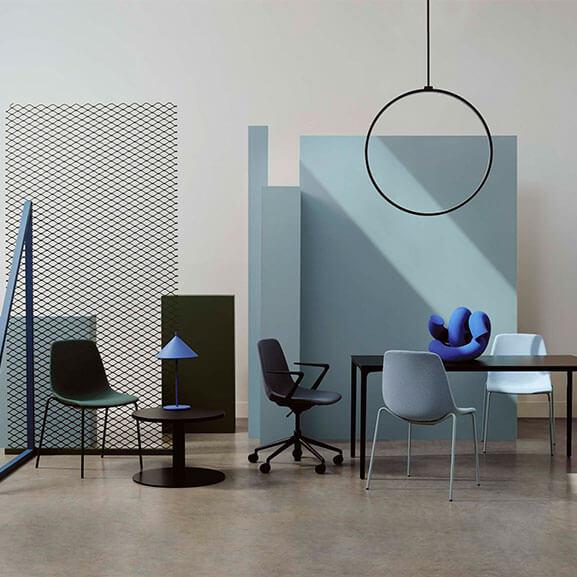 ola boss design meeting chair castors swivel