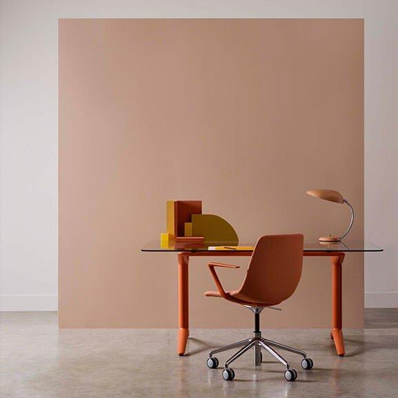 ola boss design meeting chair castor base