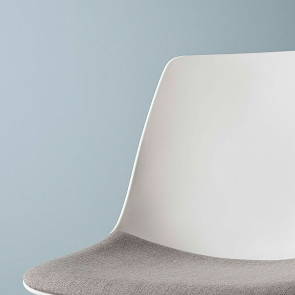 ola boss design meeting chair upholstered seat