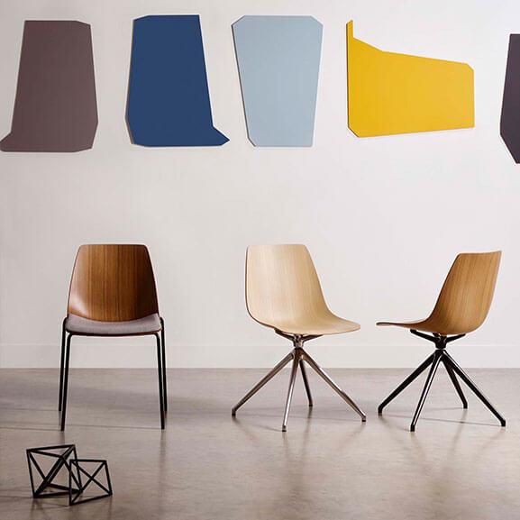 ola boss design meeting chair 4 star swivel 4 leg