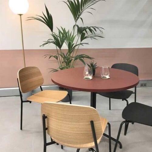 Platform 4 leg Base work stories cafe