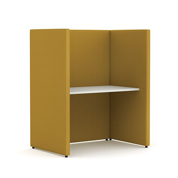 Pledge Elements Single Panel Booth 720h table
