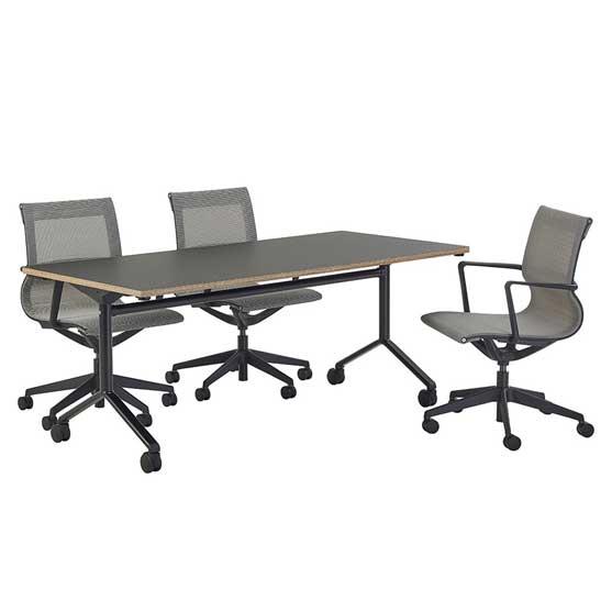 Tilt Top Grey Table