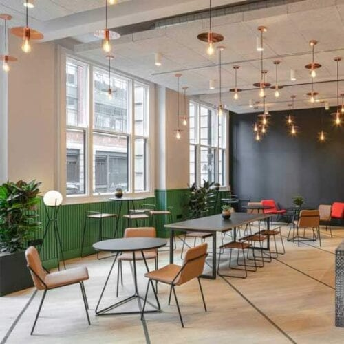 Sling Lounge Work Stories upholstered group