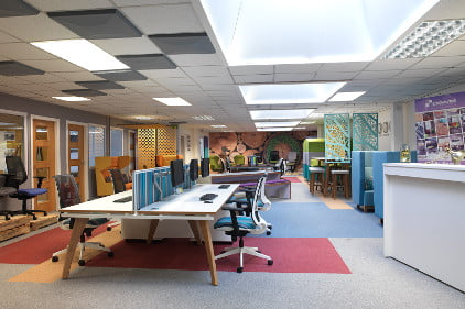 Liverpool office furniture showroom