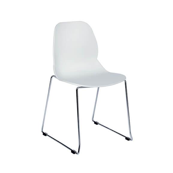 Aquilo Sled base chair air seating