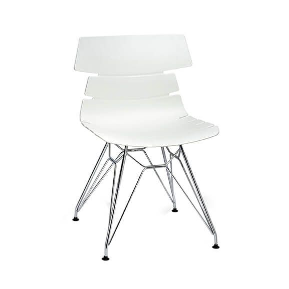 Aquilo bistro chair wired frame air seating