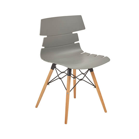 Aquilo bistro chair wooden 4 leg air seating