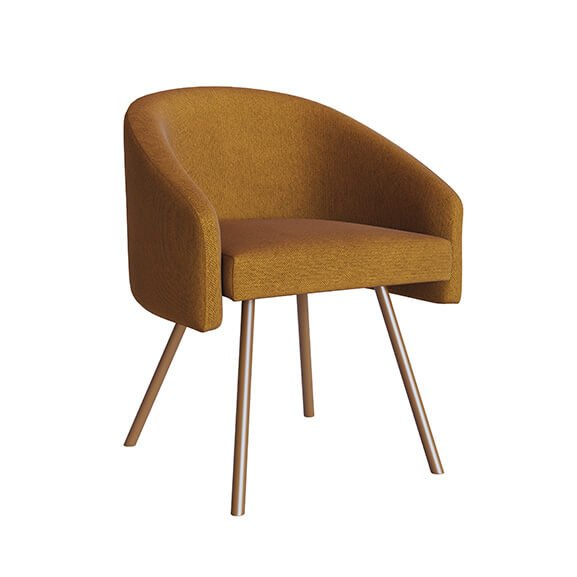 fuji wooden 4 leg chair upholstered air seating