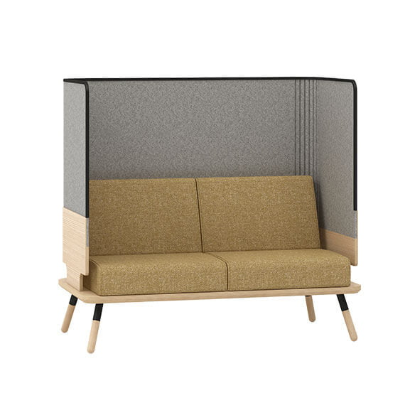 2 seater sofa peacework connection seating