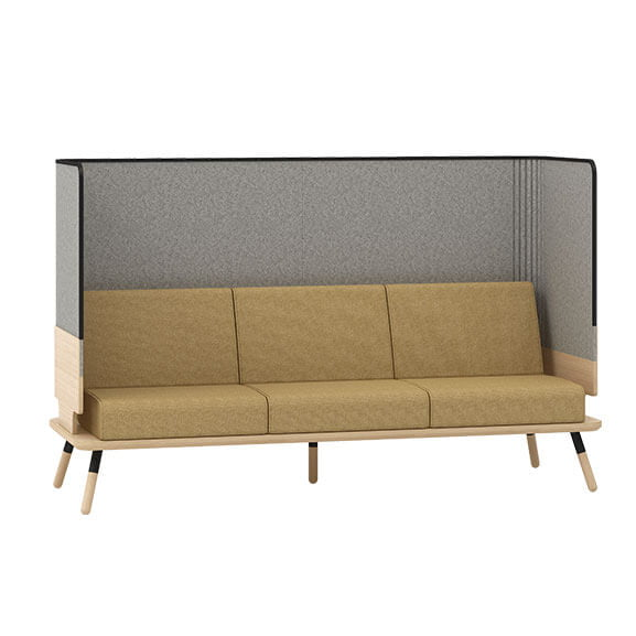 3 seater sofa connection seating peacework