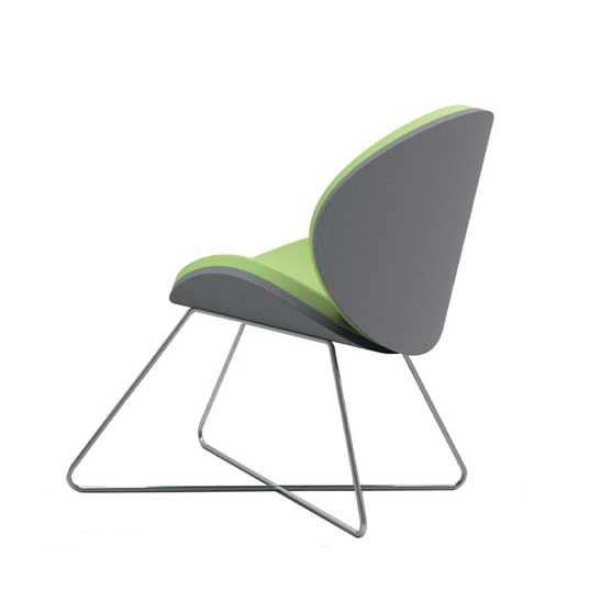 corona sled base scoop seat air seating