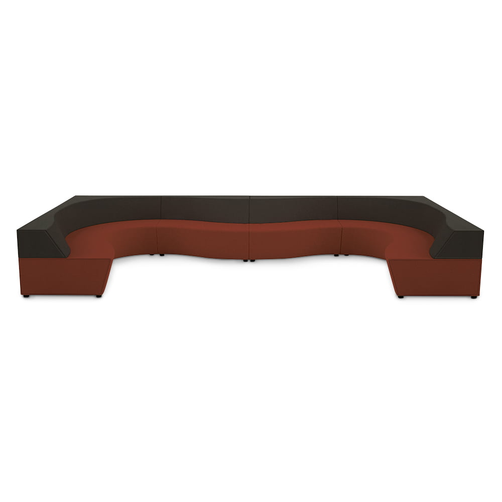 Horizon wave sofa connection seating