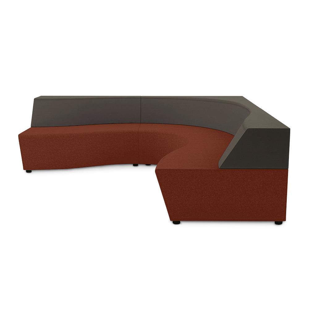 l shaped horizon sofa connection seating