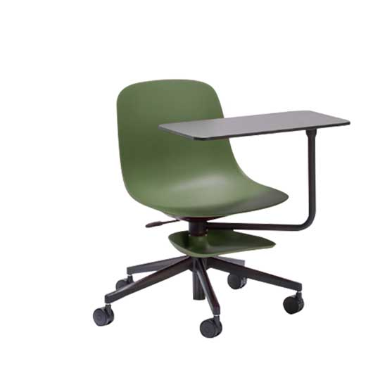 loop training room chair military green connection