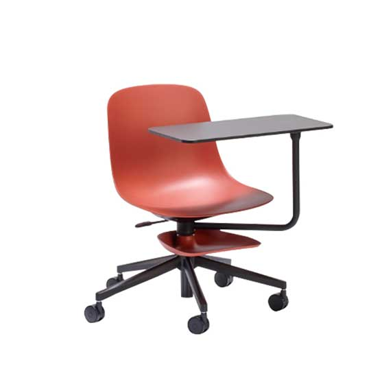 loop training room chair marsala red connection
