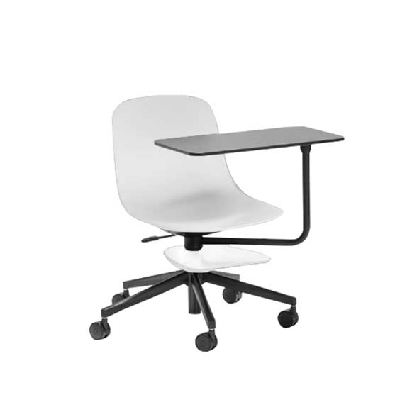 loop training room chair white connection