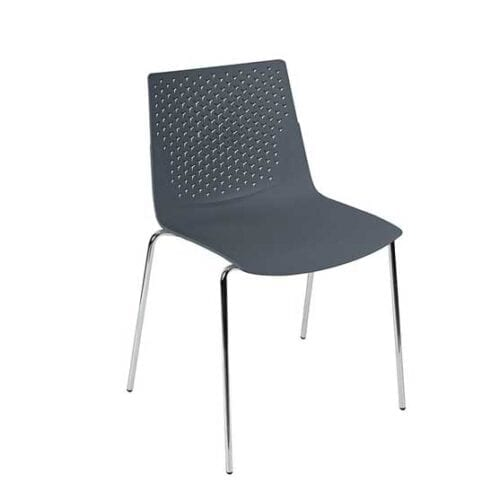 pali black 4 leg chair air seating