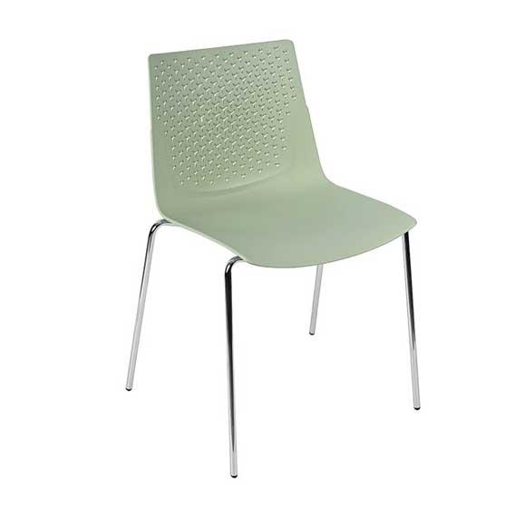 pali olive 4 leg chair air seating
