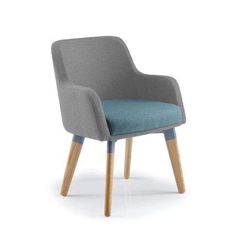 Scelta 4 Leg frame armchair PSI