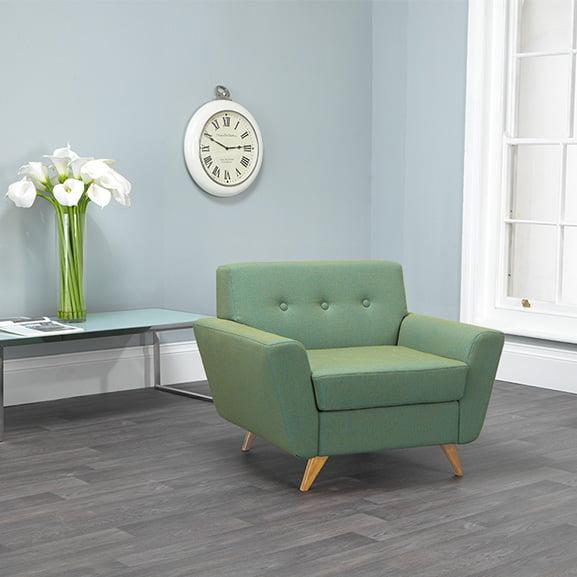 vitality armchair wooden legs pulse design