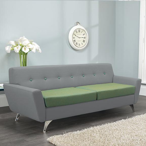 vitality 3 seater sofa 2 toned upholstery pulse design