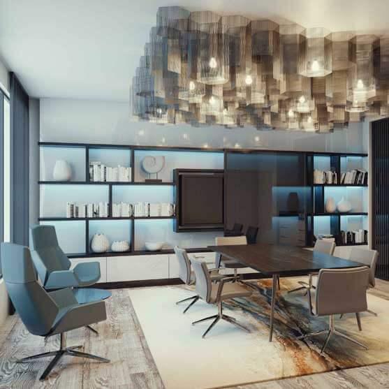 tokyo meeting chair 4 star base fully upholstered boss design