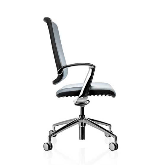 trinetic meeting chair 4 star base arms boss design