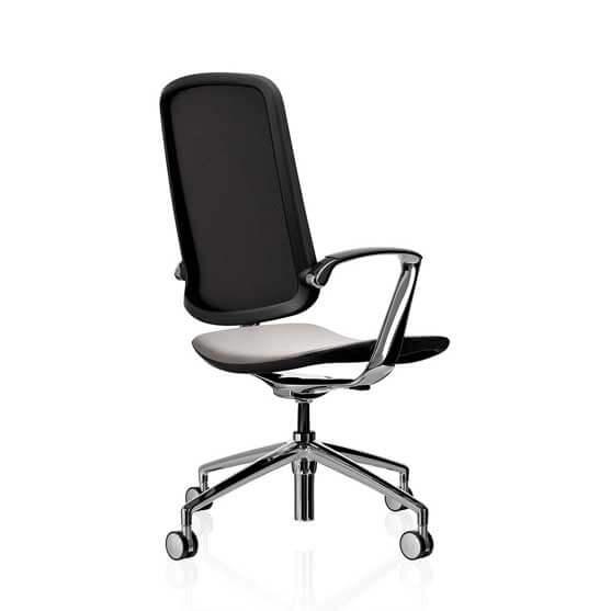 trinetic mesh meeting chair boss design