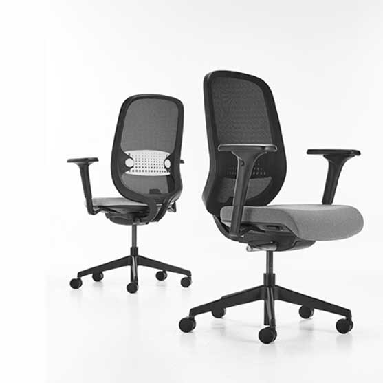 workwell mesh chair 5 star base connection