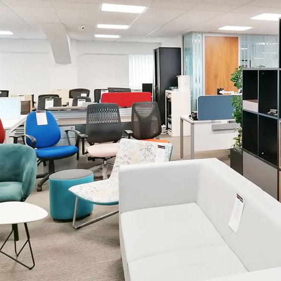 BT Office Furniture Showroom